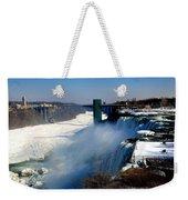 Water And Ice Weekender Tote Bag