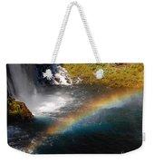 Water And Rainbow Weekender Tote Bag