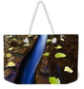 Water And Stone Weekender Tote Bag