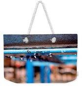 Water Blue  Weekender Tote Bag