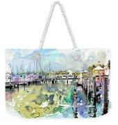 Water Boarding Weekender Tote Bag