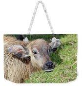 Water Buffalo Calf Weekender Tote Bag