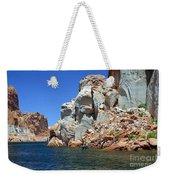 Water Canyon II Weekender Tote Bag