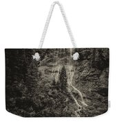 Water Cascade Along The Animas River Colorado Dsc07657 Weekender Tote Bag