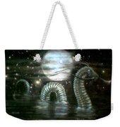 Water Dragon And Moon Weekender Tote Bag