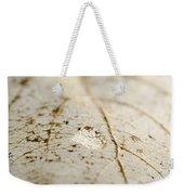 Water Drop Weekender Tote Bag