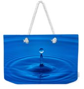 Water Droplet Weekender Tote Bag