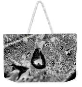 Water Droplets On A Sheet Weekender Tote Bag