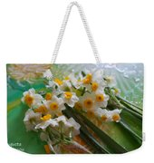 Water Drops On A Bouquet Weekender Tote Bag