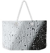 Water Drops On A Window Weekender Tote Bag