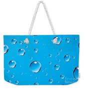 Water Drops Weekender Tote Bag