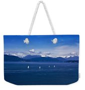 Water Earth Sky Weekender Tote Bag