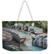 Water Fall In The Gratto Weekender Tote Bag