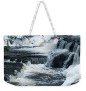 Water Fall On The River Weekender Tote Bag