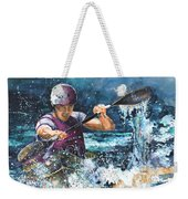 Water Fight Weekender Tote Bag