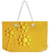 Water Flowers Weekender Tote Bag by Carlos Caetano