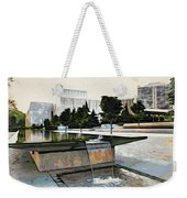 Water Flows At The Barnes Weekender Tote Bag