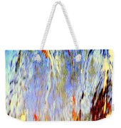 Water Fountain Abstract #30 Weekender Tote Bag
