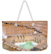 Water Garden Fountain, Fort Worth, Texas Weekender Tote Bag