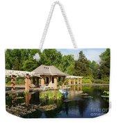 Water Garden Serenity Weekender Tote Bag