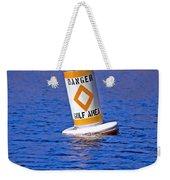 Water Hazard Weekender Tote Bag