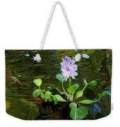Water Hyacinth Float Weekender Tote Bag