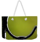 Water Ice Iron Weekender Tote Bag