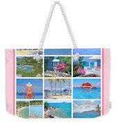 Water Island Poster Weekender Tote Bag