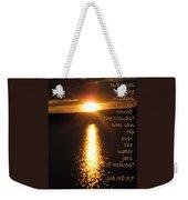Water Jars Of Heaven Weekender Tote Bag