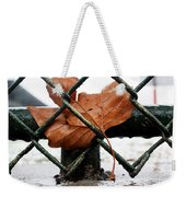 Water Leaf Weekender Tote Bag