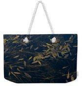 Water Leaves Weekender Tote Bag
