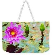 Water Lilies 002 Weekender Tote Bag