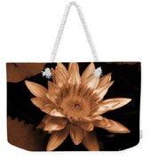 Water Lilies 012 Weekender Tote Bag
