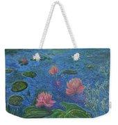 Water Lilies Lounge 2 Weekender Tote Bag