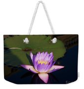 Water Lilies Monet Weekender Tote Bag