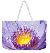Water Lilly Weekender Tote Bag