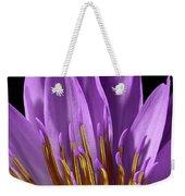 Water Lily-0005 Weekender Tote Bag