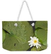 Water Lily 1 Weekender Tote Bag