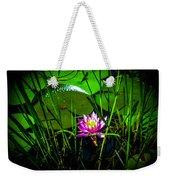 Water Lily 3 Weekender Tote Bag