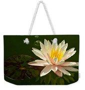 Water Lily And Pad Weekender Tote Bag
