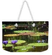 Water Lily Garden 2 Weekender Tote Bag