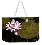 Water Lily Weekender Tote Bag by Heiko Koehrer-Wagner