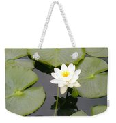 Water Lily I I Weekender Tote Bag