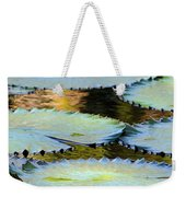 Water Lily Pads In The Morning Light Weekender Tote Bag