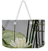 Water Lily Pictures 48 Weekender Tote Bag