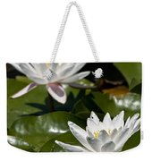 Water Lily Pictures 75 Weekender Tote Bag