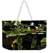 Water Lily Pond Weekender Tote Bag