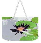 Water Lily - Purple Power - Photopower 1376 Weekender Tote Bag