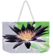 Water Lily - Purple Power - Photopower 1377 Weekender Tote Bag