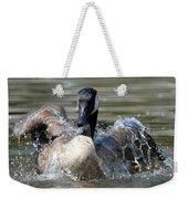 Water Logged - Canadian Goose Weekender Tote Bag